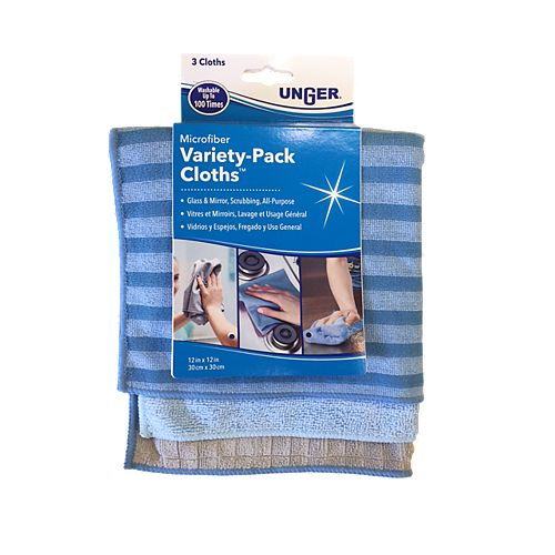Microfibre Cloths (Variety 3-Pack)