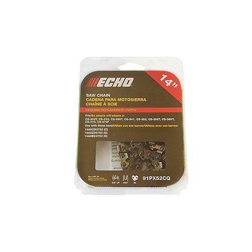 14-inch Replacement Chain for ECHO CS310 Chainsaw
