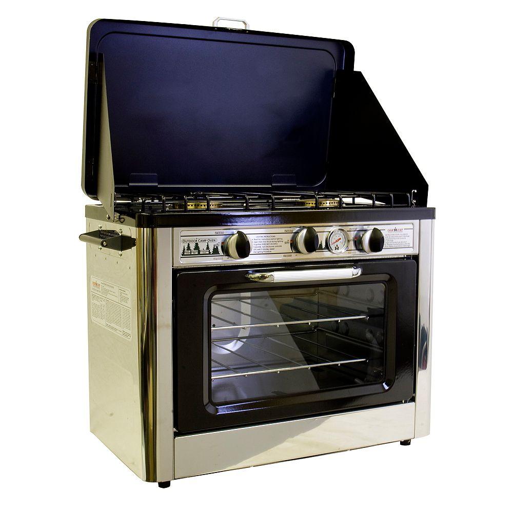 Camp Chef Deluxe Outdoor Propane Camping Oven  ETL