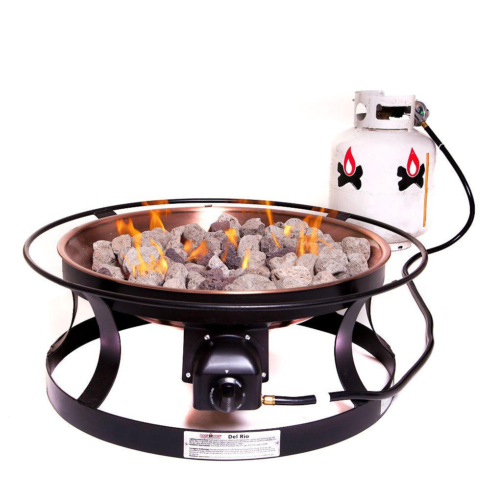 Camp Chef Del Rio Propane Outdoor Fire Pit The Home Depot Canada