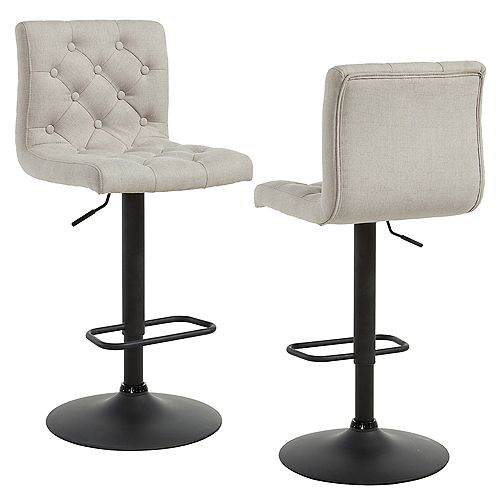 Bedford Stools in Beige (Set of 2)