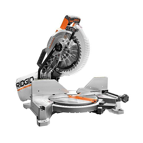 15 amp 10-inch Dual Bevel Corded Mitre Saw with Laser