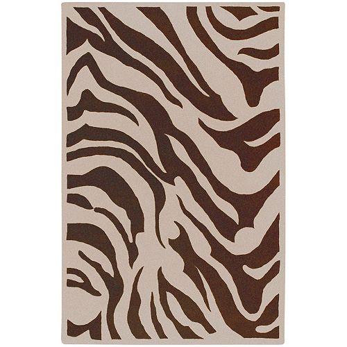 Artistic Weavers Kisama Chocolate 5 Feet x 8 Feet Indoor Area Rug