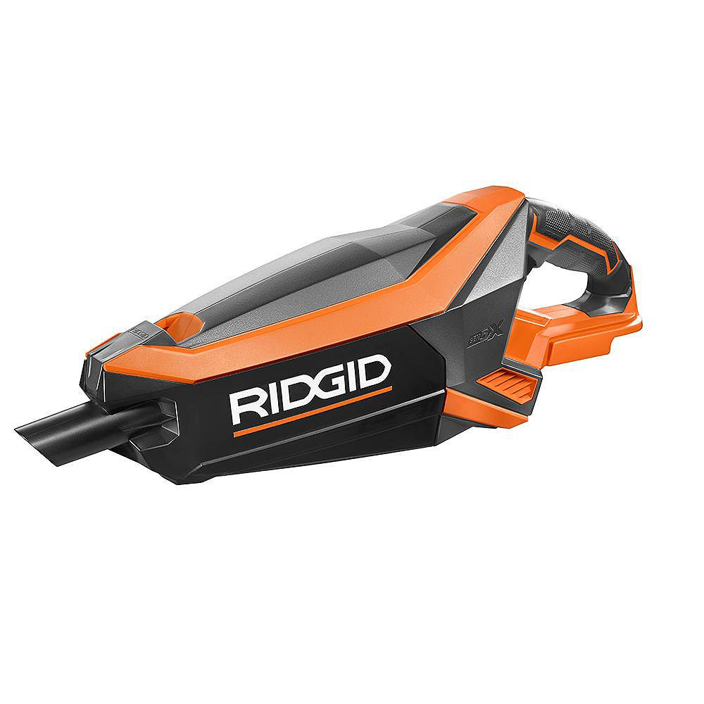 RIDGID GEN5X 18V Cordless Brushless Vacuum (Tool-Only) with (2) Nozzles and 2-Foot Extension Tube