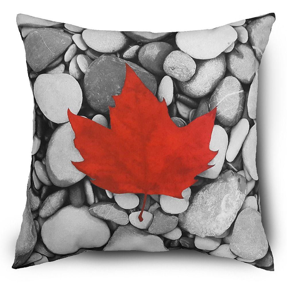 Hampton Bay Oreiller en Feuille d'Erable Canadien de 43.18 cm