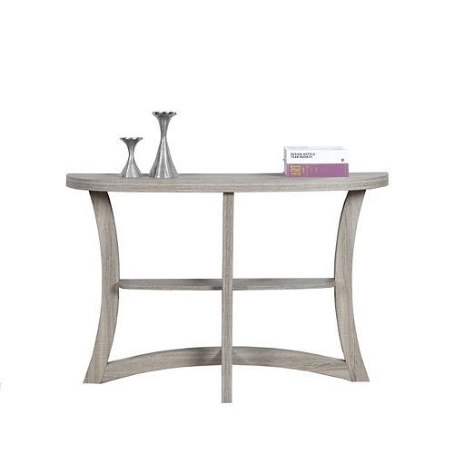 """Monarch Specialties Table D'Appoint - 47""""L / Console D'Entree Taupe Fonce"""