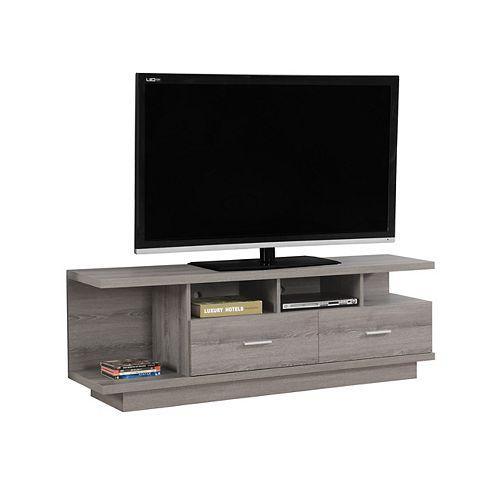 Tv Stand - 60 Inch L / Dark Taupe