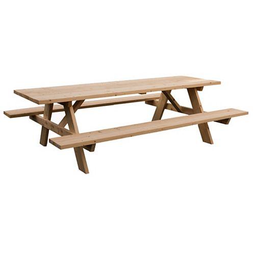 Grand 8ft Table de Pique-Nique