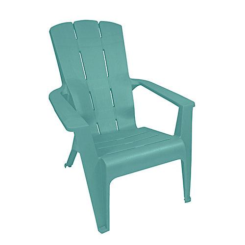 chaise Adirondack a Contour, sarcelle