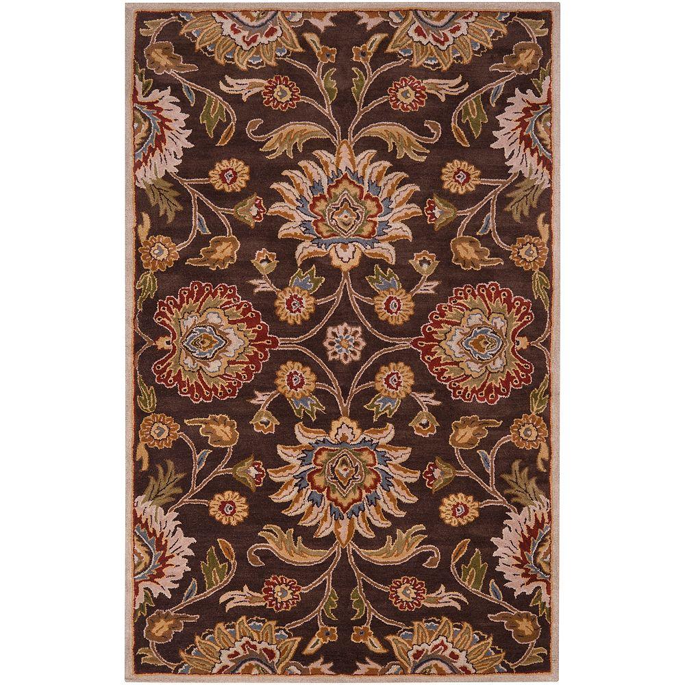 Artistic Weavers Cambrai Brown 10 Feet x 14 Feet Indoor Area Rug