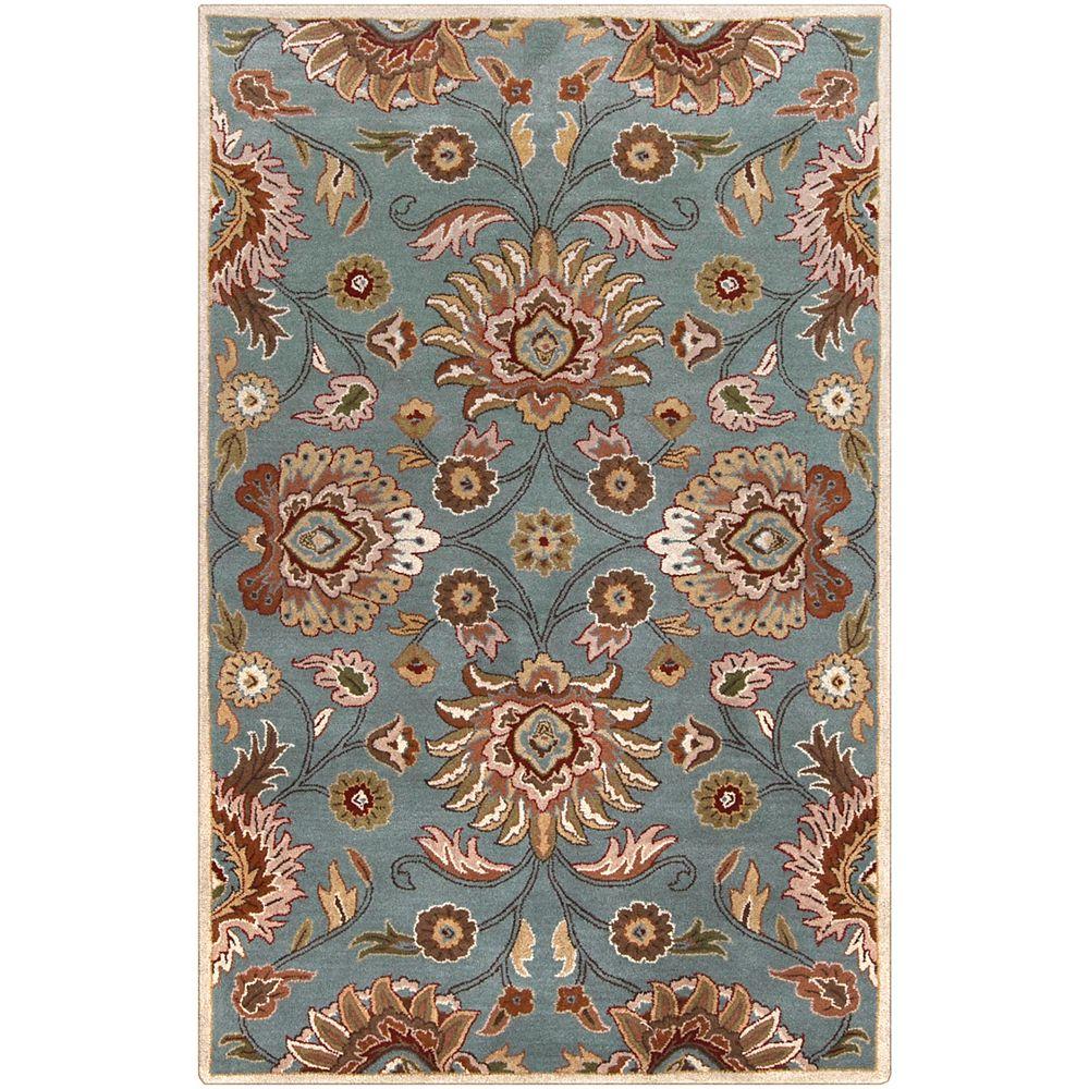 Artistic Weavers Cambrai Blue 10 Feet x 14 Feet Indoor Area Rug