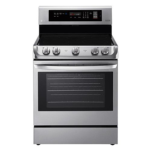 6.3 cu. ft. Electric Range with ProBake Convection and EasyClean Oven in Stainless Steel