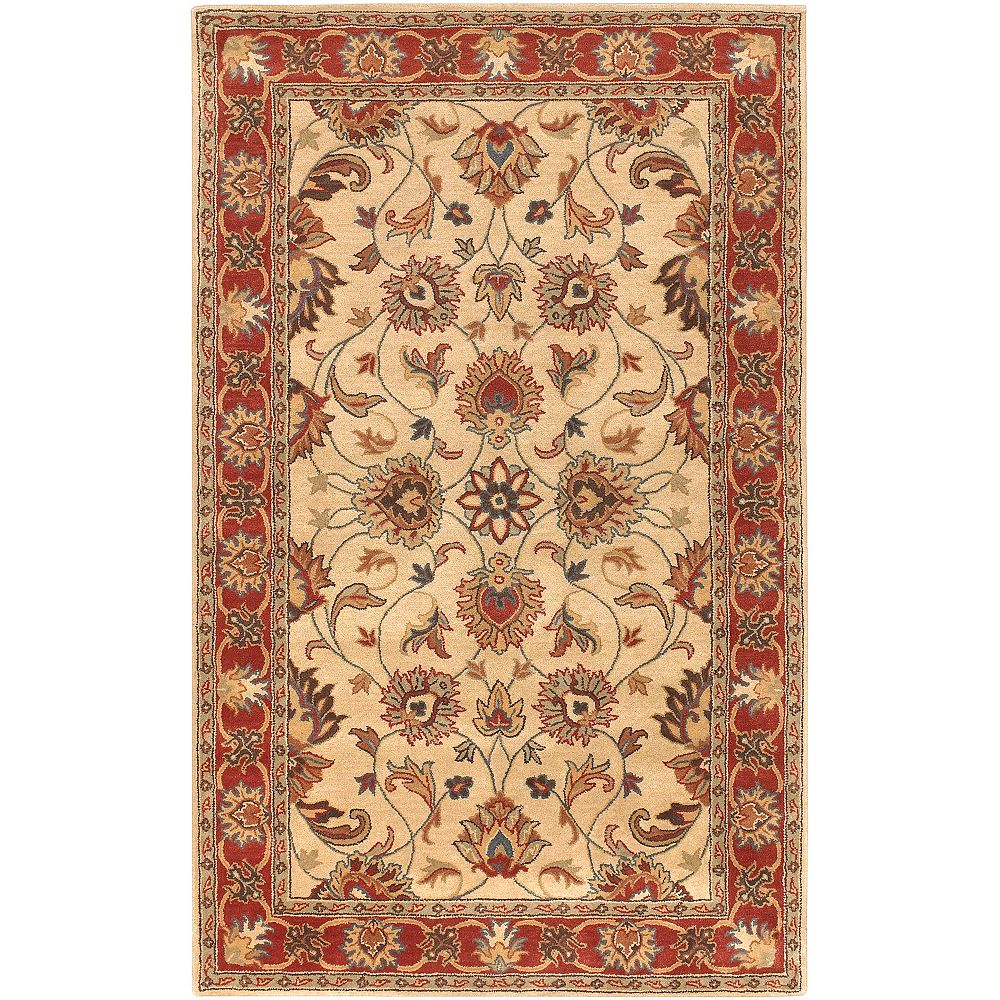 Artistic Weavers Chaka rouge 4 ft. X 6 ft. tapis interieur