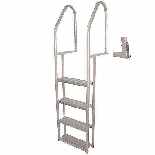 Multinautic 4-Step Aluminum Dock Ladder