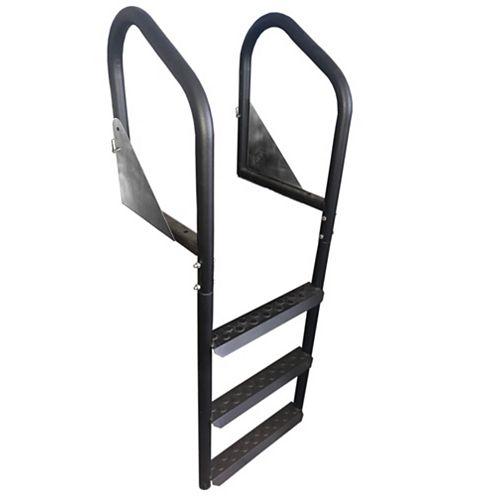 Retractable Painted Steel Dock Ladder