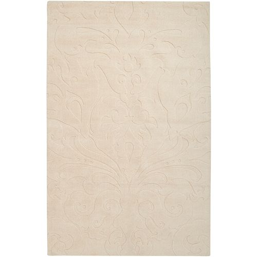Home Decorators Collection Milton Butter 9 Feet x 13 Feet Indoor Area Rug