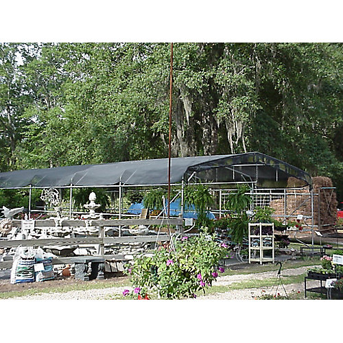 Riverstone 10 ft. x 10 ft. 73% Shade Cloth System with Corner Grommets
