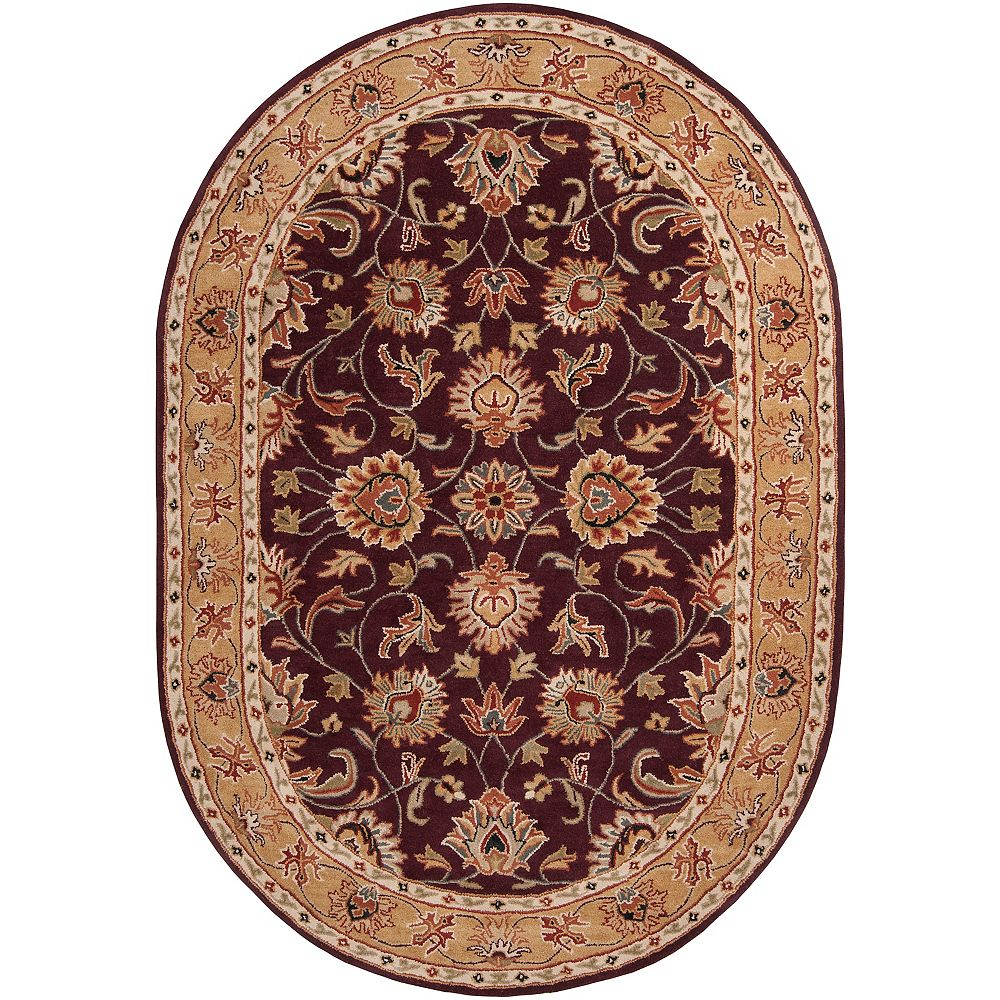 Artistic Weavers Chaka violet 8 ft. X 10 ft. ovale tapis interieur