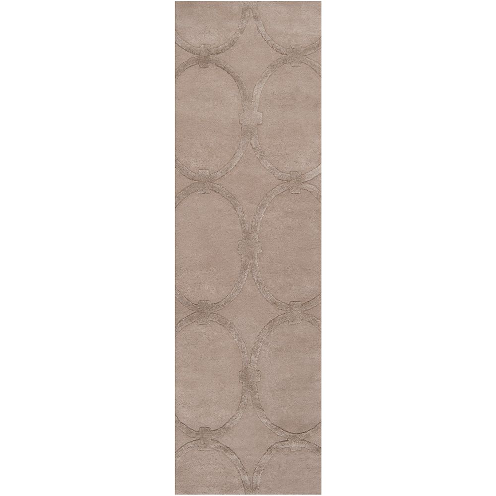Home Decorators Collection Dalaro Taupe 2 ft. 6 in. X 8 ft. coreur interieur