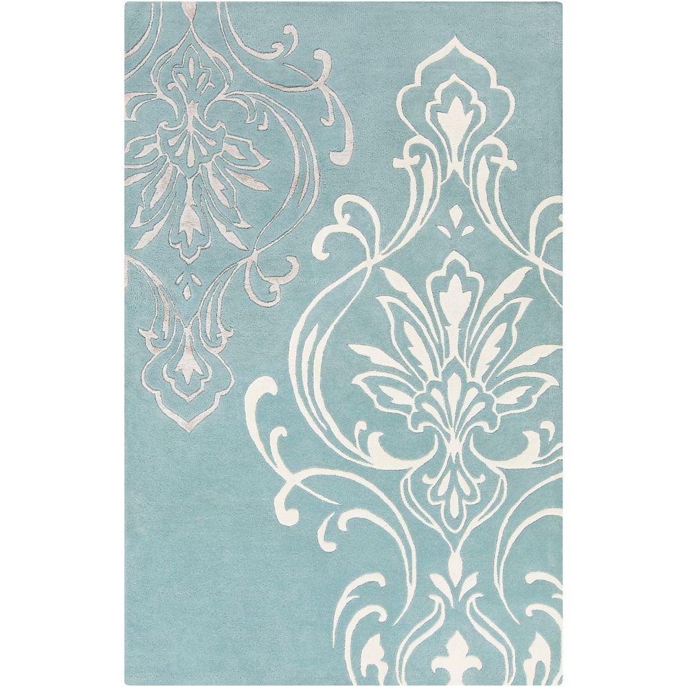 Home Decorators Collection Clovis Slate 2 Feet x 3 Feet Indoor Area Rug