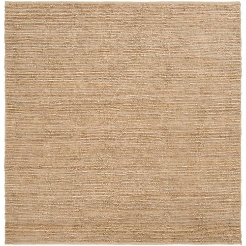 Icarus Taupe 8 ft. X 8 ft. carre tapis interieur