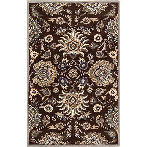Artistic Weavers Cambrai Chocolate 7 Feet 6 Inch x 9 Feet 6 Inch Indoor Area Rug