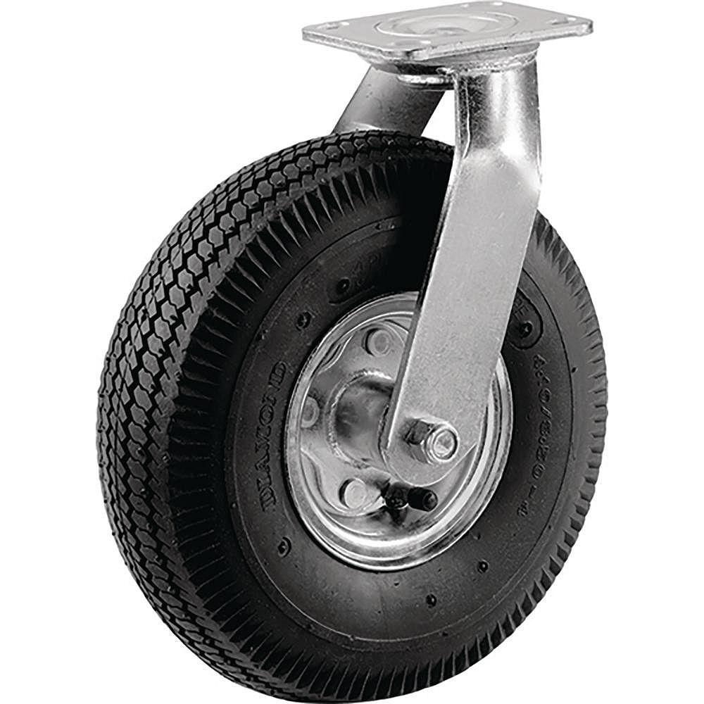 Everbilt 8 inch Pneumatic Wheel Medium Duty Swivel Caster