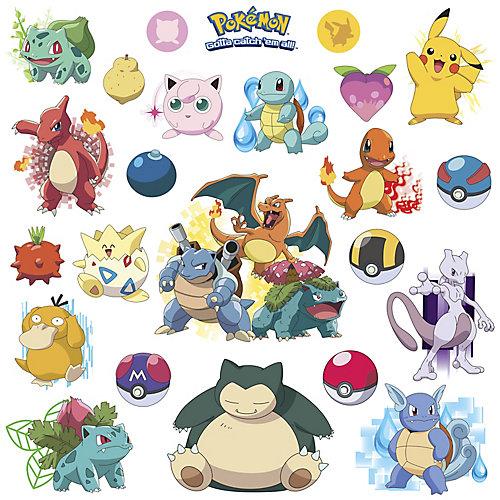 Stickers Muraux Pokemon