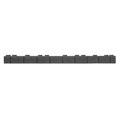 3.25-inch x 48-inch Roman Foundation Garden Border in Grey