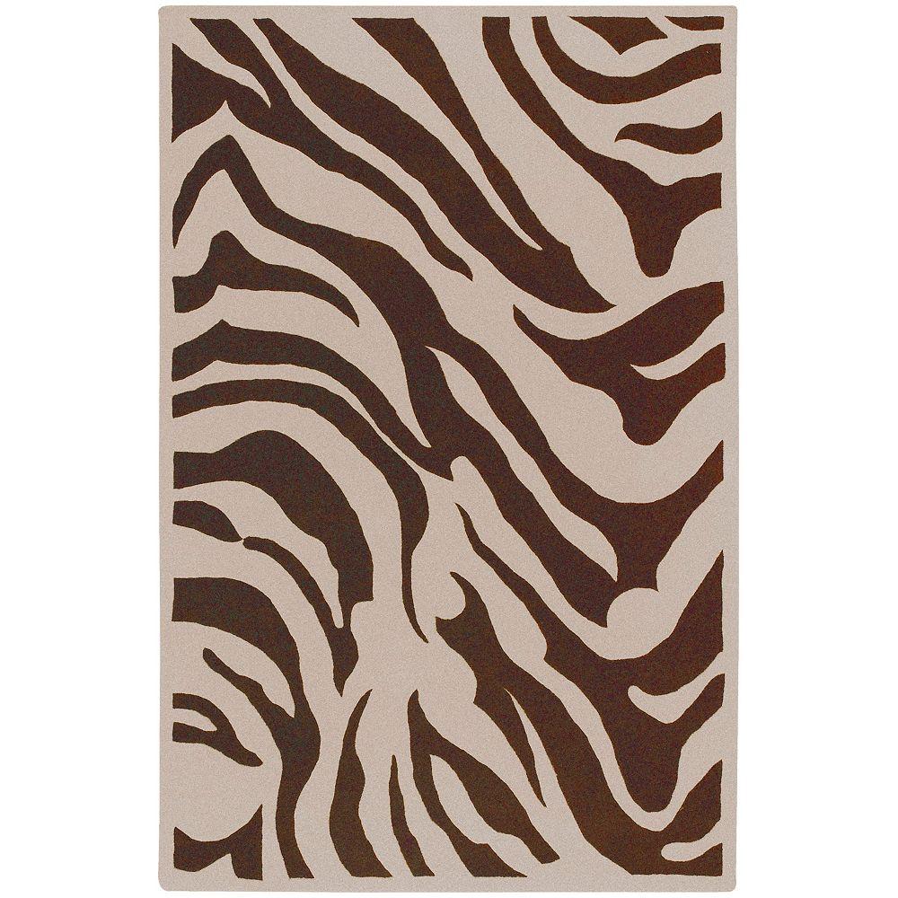Artistic Weavers Kisama Chocolate 8 Feet x 11 Feet Indoor Area Rug