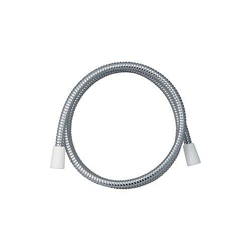 "Delta 72"" Flexible Hose - Non-vacuum Breaker, White/Chrome"