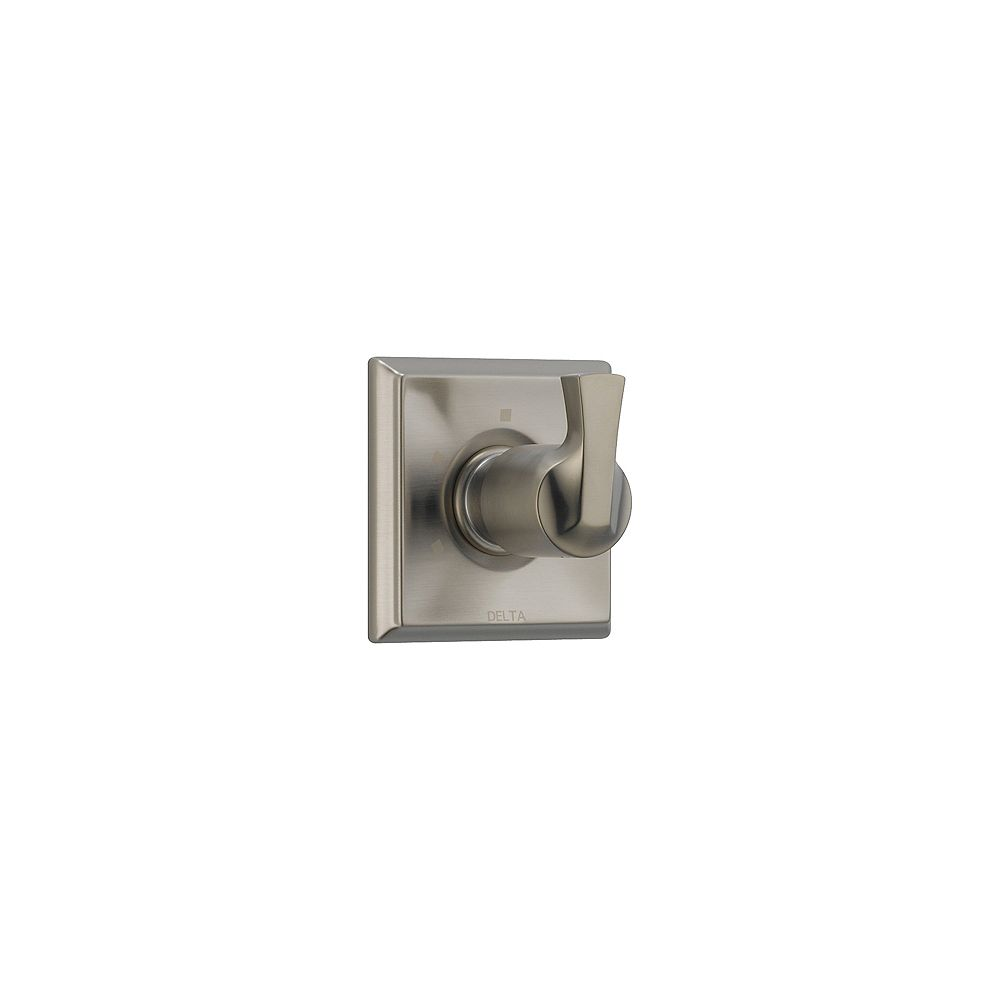 Delta Dryden 3 Setting Diverter, Stainless Steel