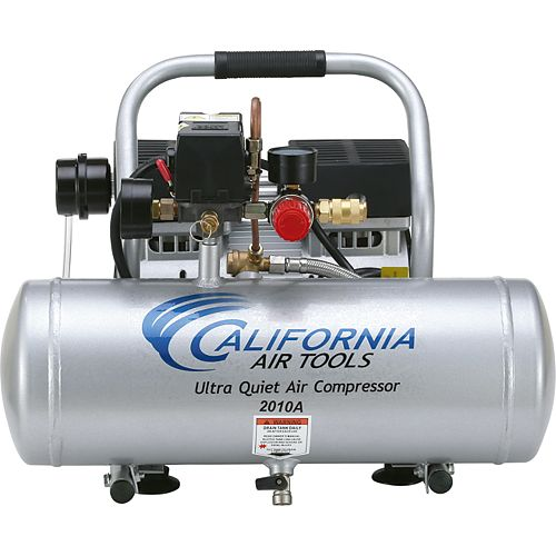 7.6 L 1.0 HP Ultra Quiet and Oil-Free Aluminum Tank Air Compressor