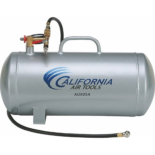 AUX05A - 5 Gallon Lightweight Portable Aluminum Air Tank