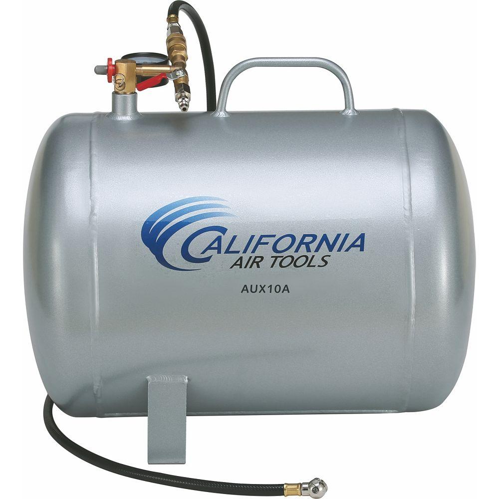 California Air Tools AUX10A - 10 Gallon Lightweight Portable Aluminum Air Tank