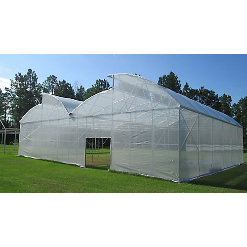 6 Feet . X 12 Feet . White Tropical Weather Shade Clothes With Grommets -50% Shade Protection