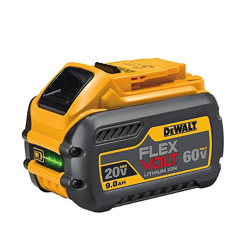 FLEXVOLT 20V /60V MAX Batterie Lithium-Ion 9.0 Ah