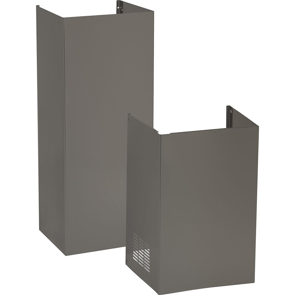 GE 9 ft. Ceiling Duct Cover Kit in Slate