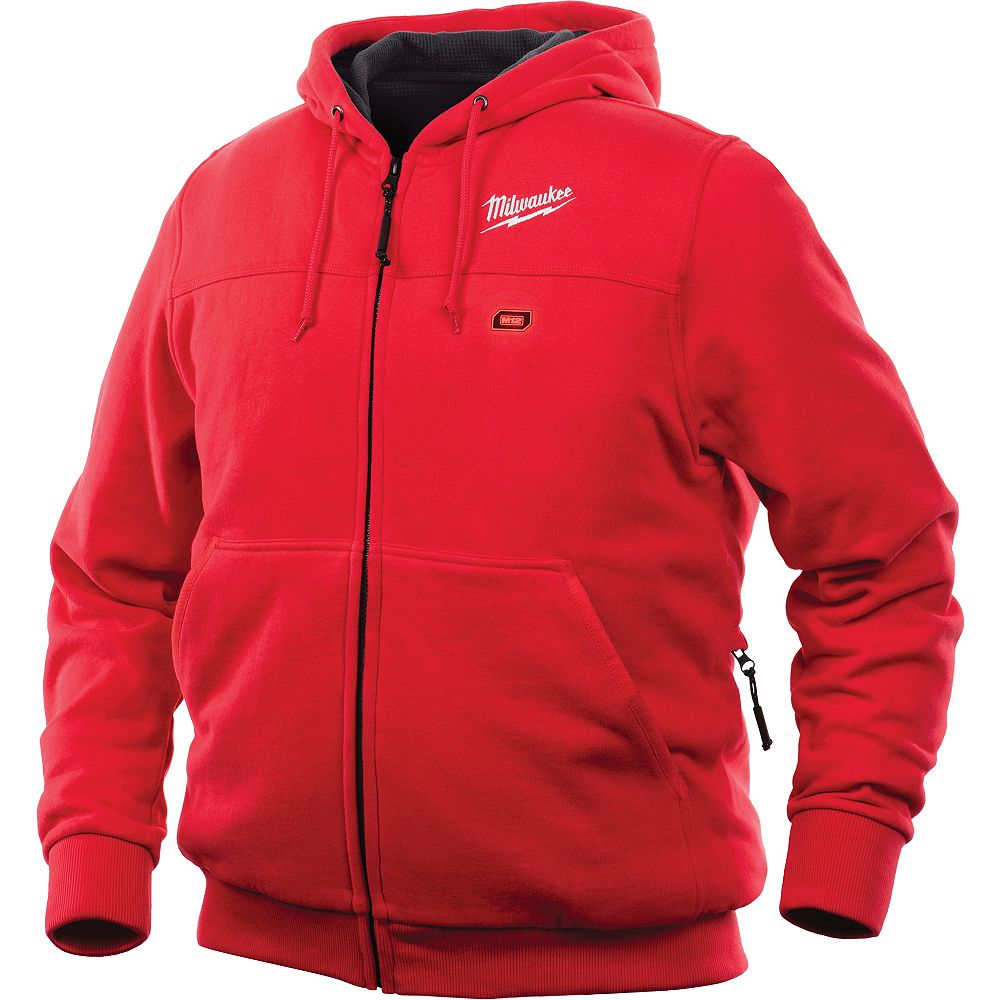 Milwaukee Tool M12 Heated Hoodie Only - Red - XL