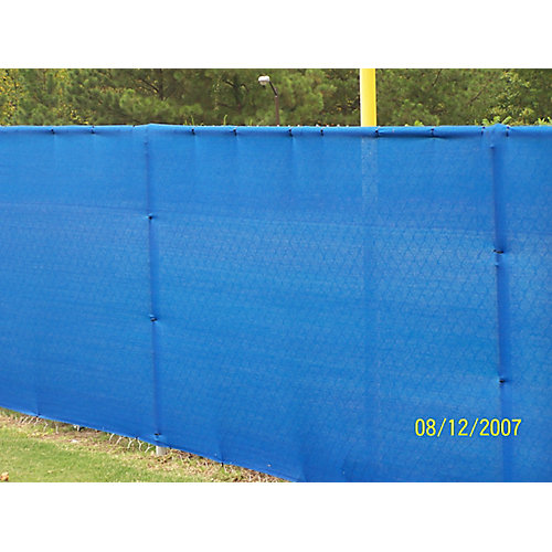 Knitted Privacy Cloth 5.8 ft. x 8 ft. - Blue - 88%
