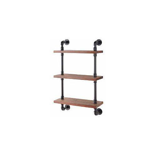 24-inch 3-Tier Wall Shelf