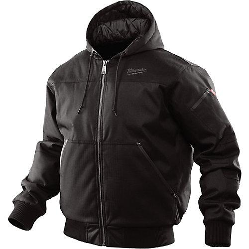 Hooded Jacket - Black M - Medium