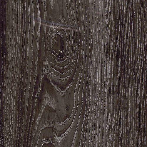 Locking 7.5-inch x 47.6-inch Aspen Oak Black Luxury Vinyl Plank Flooring (Sample)