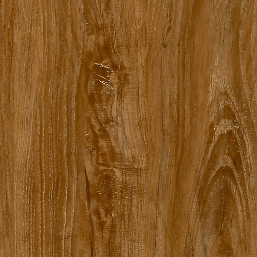 Locking Sample - Vintage Oak Brown Luxury Vinyl Flooring, 4-inch x 4-inch