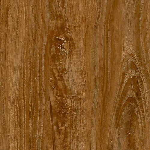 Locking Sample - Vintage Oak Brown Luxury Vinyl Flooring, 4-inch x 4-inch