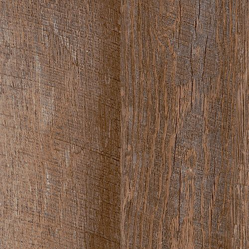 Locking Sample - 2-Strip Rustic Hickory Luxury Vinyl Flooring, 4-inch x 4-inch