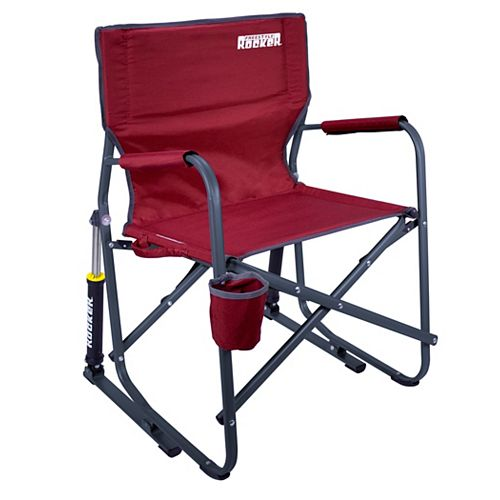 Freestyle Portable Outdoor Rocker in Cinnamon