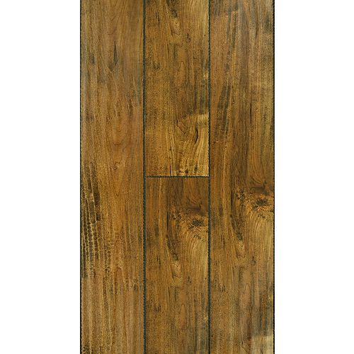 12mm+2mm Brass Maple Laminate Flooring (17.26 sq. ft. / case)