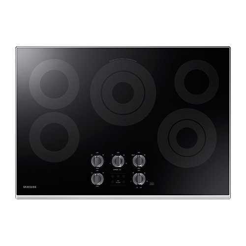 30-inch Radiant Surface Electric Cooktop in Stainless Steel with 5 Elements and Wi-Fi