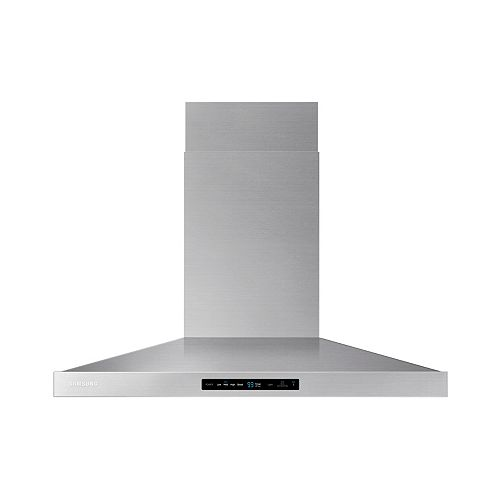 36-inch Wall Mount Range Hood with Bluetooth in Stainless Steel